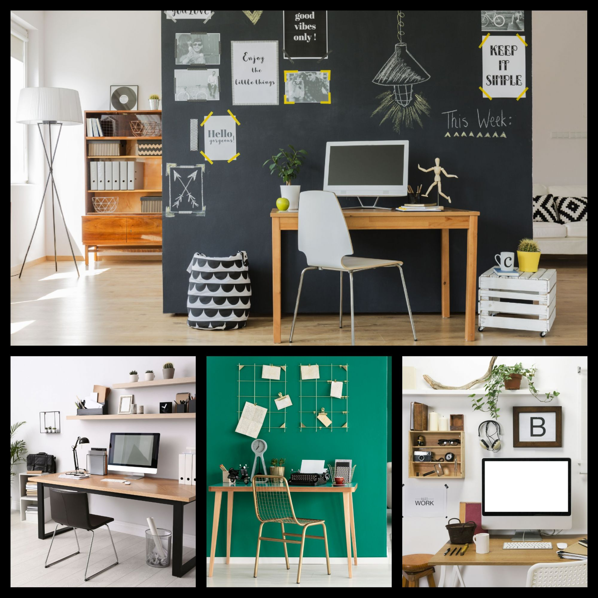 Home Office Inspiration: Organized, Efficient, and Creative